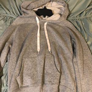 Grey forever 21 hoodie